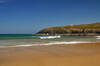 The beach at Poldhu Cove, Cornwall